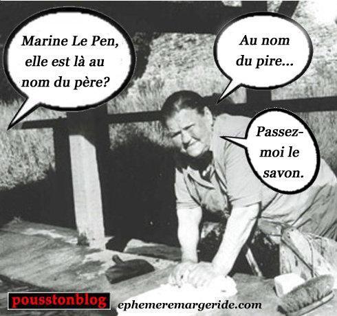 Le Pen - Marine - humour - ephemeremargeride