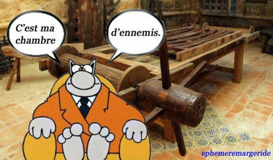 Chambre ennemis - humour - ephemeremargeride