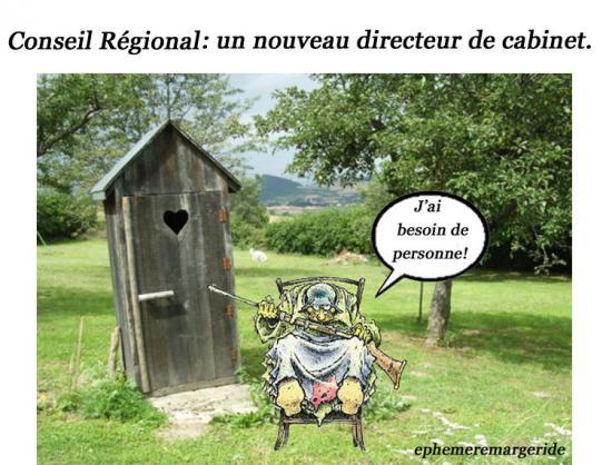 Conseil Régional - Directeur cabinet - Carmen Cru - Humour