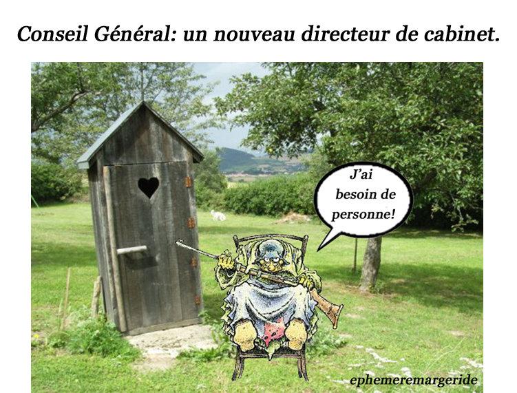 Directeur cabinet - Carmen Cru - Humour