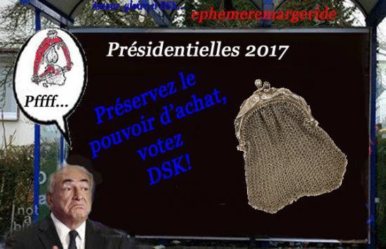 QSK - présidentielles - humour - bourses - ephemeremargeride