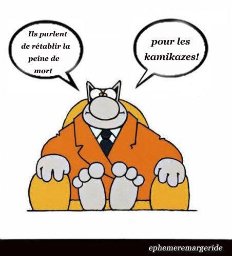 FN - Kamikaze - peine de mort - humour - ephemeremargeride
