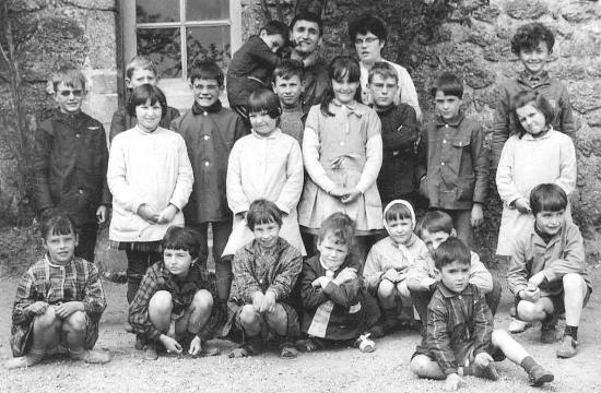 1968 - école de Chams - ephemeremargeride