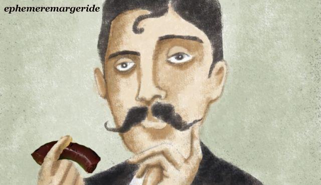 madeleine - Proust - boudin - humour - ephemeremargeride