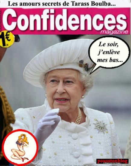 Confidences.