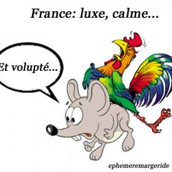 Luxe - calme - volupté - France - humour - ephemeremargeride