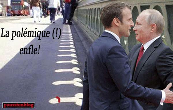Macron poutine humour ephemeremargeride 2