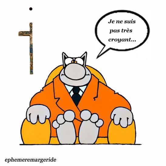 croyant modéré - crucifix - humour - ephemeremargeride