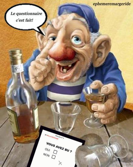 Ivrogne - cure - humour - ephemeremargeride