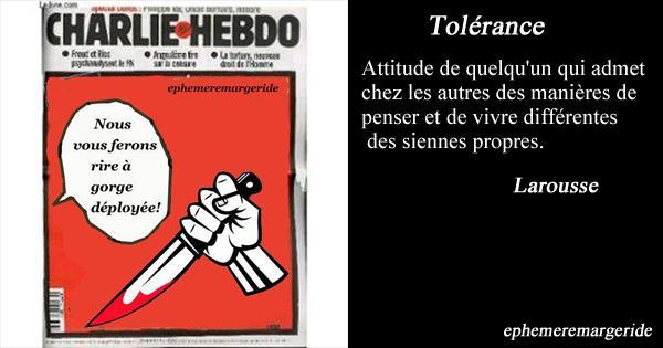 Tolerance 2 ephemeremargeride
